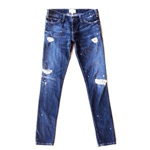 Current/Elliot The Skinny 1968 Distressed Jeans 27
